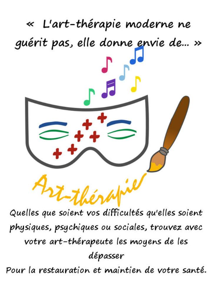 Aude Envain Art-thérapeute affiche